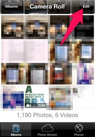 Haga clic en el'edit' button on the top right corner