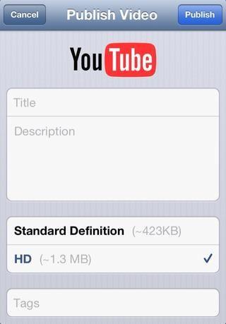 Usted verá esta página si ya ha conectado a través de tu cuenta de YouTube o Google, o se le pedirá que firme en