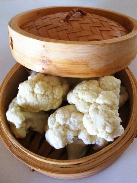 Cómo utilizar una receta de Vapor de bambú
