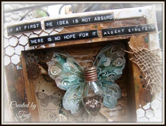 Para más inspiración creativa por favor visite mi blog http://toni-burks.blogspot.com/