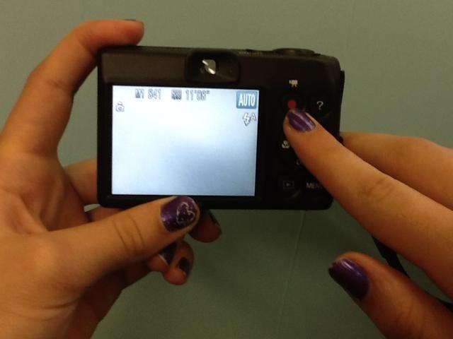 Este botón es la forma de grabar un video.