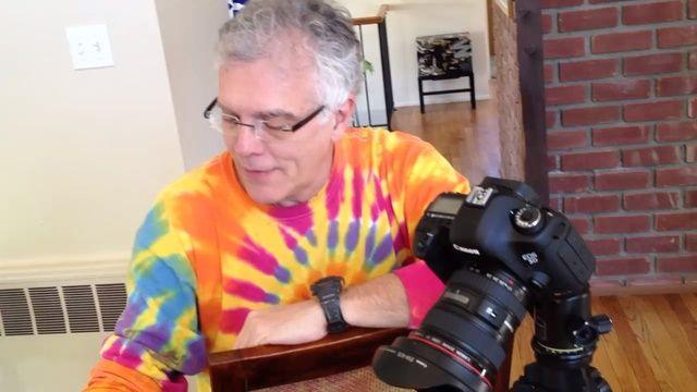 El fotógrafo Rick Sammon
