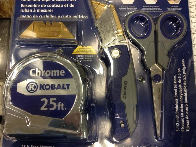A veces se puede encontrar cintas, junto con otras herramientas como parte de un set de regalo. Estos son muy útiles y los más rentables.