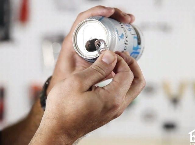 Fotografía - Cómo utilizar un Tab Aluminum Can como una imagen Percha