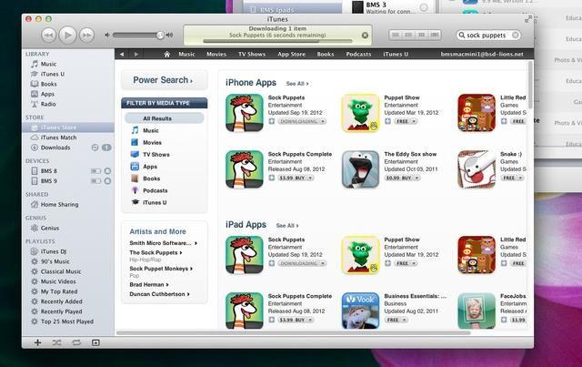 Usted tendrá que iniciar sesión en iTunes y descargar cualquiera y todas las aplicaciones que posiblemente podría desear en los iPads. Cuando aplicaciones deben actualizarse, lo más fácil es ir y volver a descargarlos.