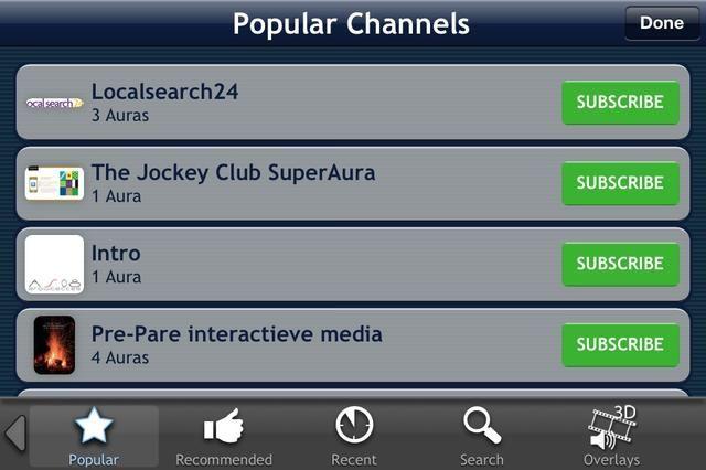 Encuentra canales populares. Únete a ellos y comprobar a cabo.