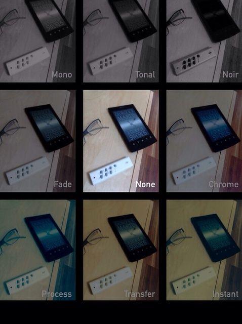 Cómo utilizar filtros de cámara en iOS7