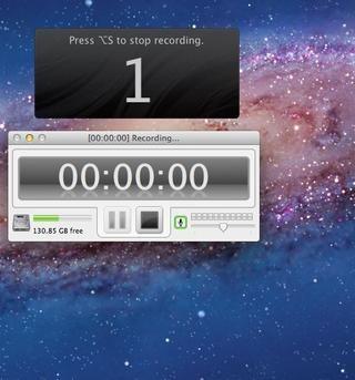 Aparecerá una pantalla de cuenta atrás. Tendrá tres segundos para estar listo para comenzar la grabación. Siempre se puede editar el inicio y el final de la grabación después.