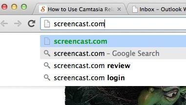 Los enlaces a las grabaciones de Camtasia Relay se encuentran aquí en Screencast.com. Screencast también le permite incluir las capturas en no sólo vincular a ellos.