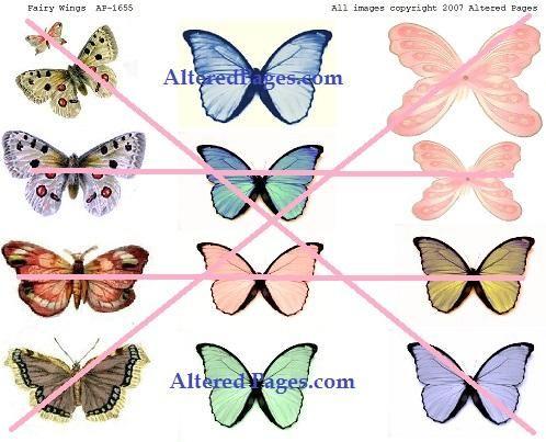 Esta imagen está disponible para su compra en AlteredPages.com. Elegí imágenes en colores sólidos debido a que el patrón de fondo es tan audaz.