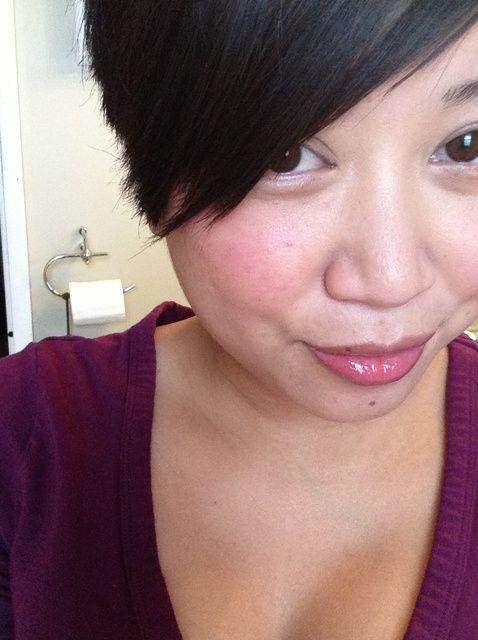 Cómo utilizar crema para la piel que brilla intensamente Blush Natural