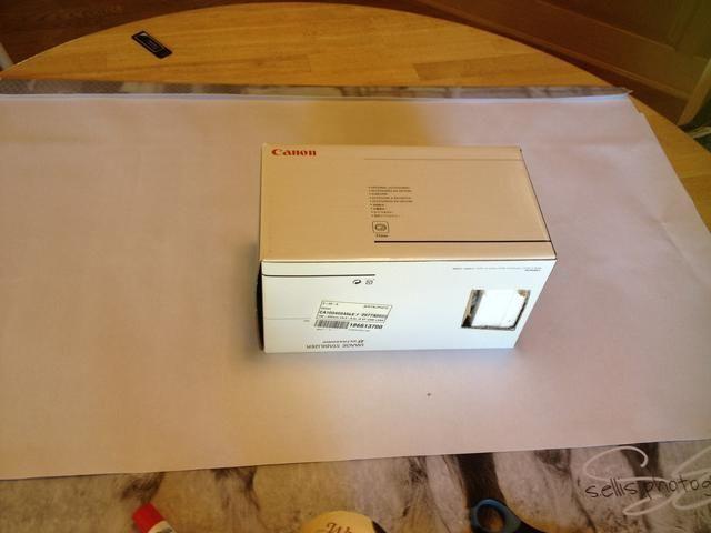 Utilice una caja para ayudar a dar forma.