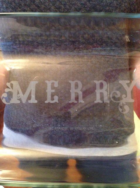 Cómo utilizar Aguafuerte crema sobre el vidrio