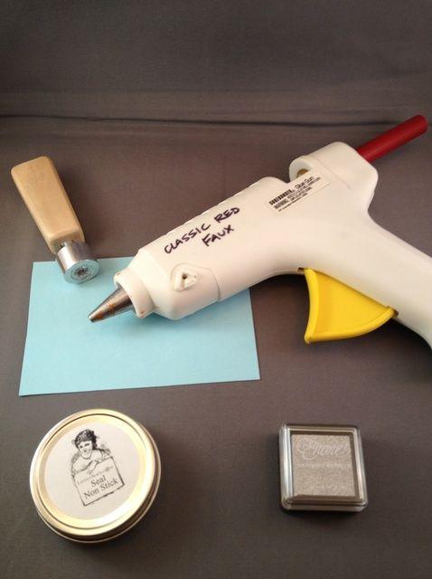 Cómo utilizar pegamento de pistola y Wick Sealing Ceras