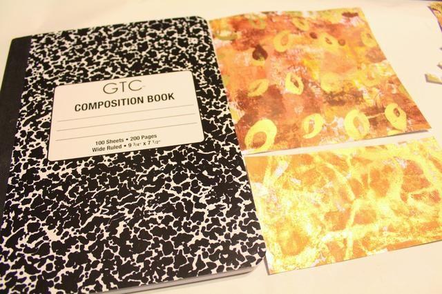 recortar los papeles para adaptarse a la composición de libros ...