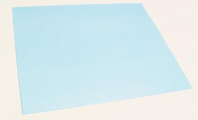 3 - 8 X 10 hojas vienen en un paquete. las hojas están cubiertas con una película protectora azul en el frente y la parte posterior ...