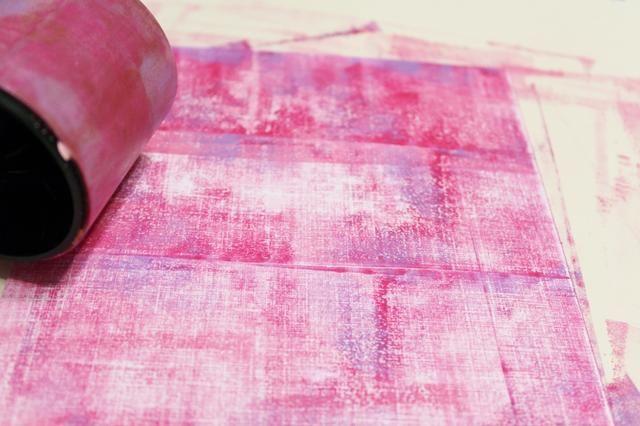 utilizar la rueda de color y el exceso de tinta para agregar otra capa a fondo ...