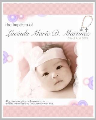 Y tadannnn heres mi bebé! :) Bebé Lucy :) esperanza u como guía d! :) También hice el diseño de telón de fondo y tomé foto de ella después de un baño rápido. Yo uso una cinta de un regalo y corbata como una diadema :).