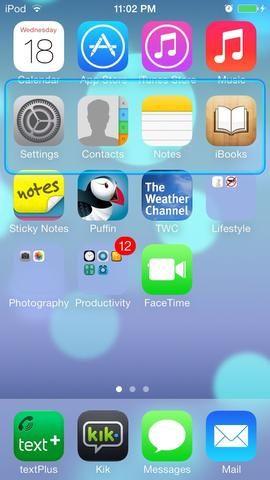 El resaltado azul ocurrirá, pero aparte de la apariencia del dispositivo, no cambiar nada de lo que he encontrado.