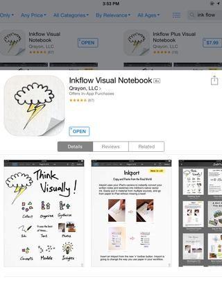 Inkflow: es un simple, fácil de usar aplicación para