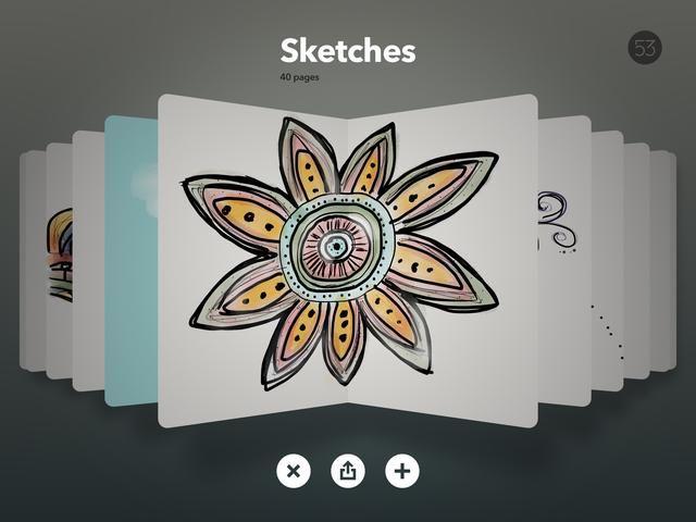 Esta Es la aplicación más común para los estudiantes a utilizar. Usted puede mezclar los colores y las opciones de pincel son increíbles. El pincel de acuarela es tan bonito! Si desea guardar los gráficos para todas las ocasiones en otra aplicación ..