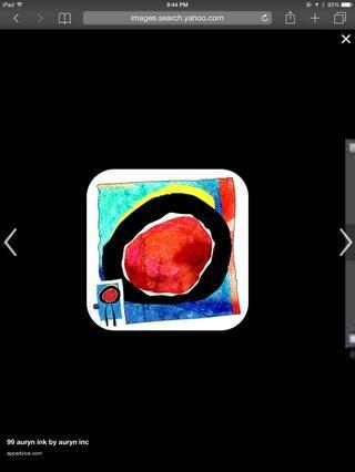 Auryn: Esta aplicación le permite pintar digitalmente la acuarela en un lienzo. Es tan realista. Elija varios pinceles, y añadir más o menos
