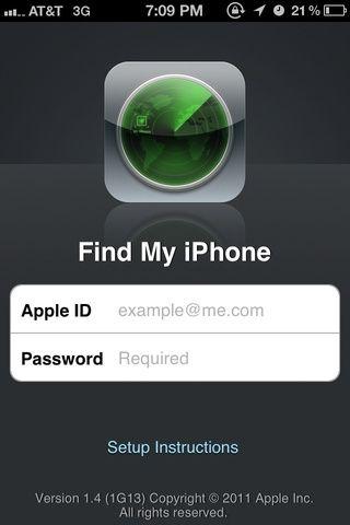 Después de descargar, sesión con tu ID de Apple.