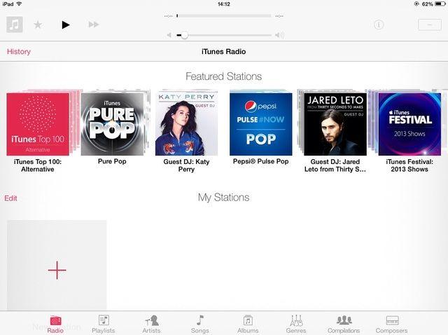 Cómo utilizar iTunes Radio Desde un iDevice