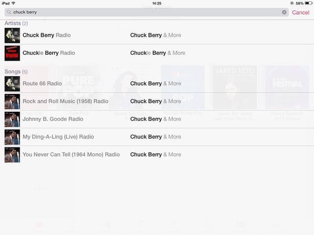 Im que busca a Chuck Berry, sólo como un ejemplo.