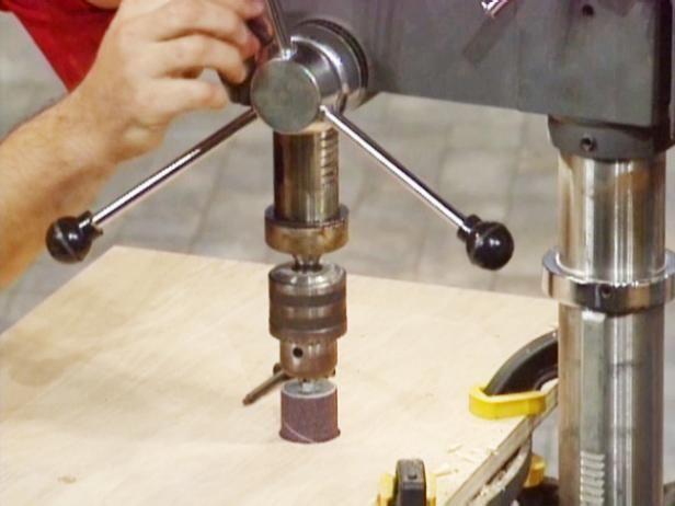 Fotografía - Cómo utilizar las plantillas con un taladro