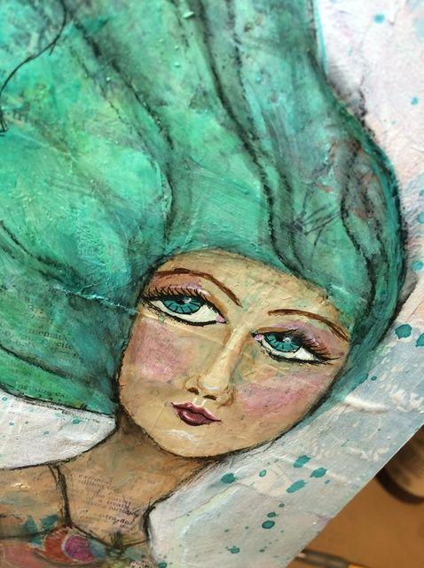 Cómo utilizar capas en su Art Journal