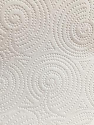 usted puede encontrar las toallas de papel con un montón de diseños interesantes.