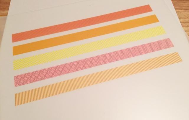 crear la cinta de encargo washi para embellecer su proyecto usando Rub-Onz por Grafix y Publisher u otro programa de edición.