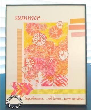 apilar vidrio, superposición, estera y el collage y el soporte a continuación marco. *** Tami lijadoras * artesano papel --- tamisanders.com para GRAFIX --- http://grafixarts.com