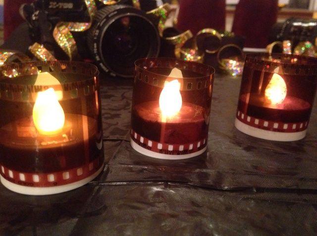 Fotografía - Cómo utilizar negativos a decoratate Tealights