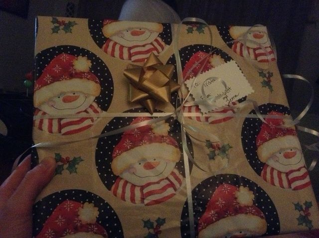 Fotografía - Cómo utilizar Reciclado Box para envolver un regalo