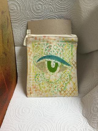 Ponga la bolsa en color Catcher forrado con papel de cocina.