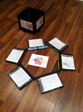 Saque y voltear a través de las tarjetas de memoria flash. Juguete alrededor con todas las opciones de ingredientes que puede combinar para hacer un perfil completo del sabor