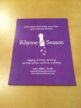 Visita rhymeandseason.com para encontrar más recursos y orientación para sus esfuerzos culinarios creativos!