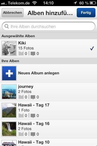 Kiki. Pero también se puede añadir nuevos álbumes en el camino.