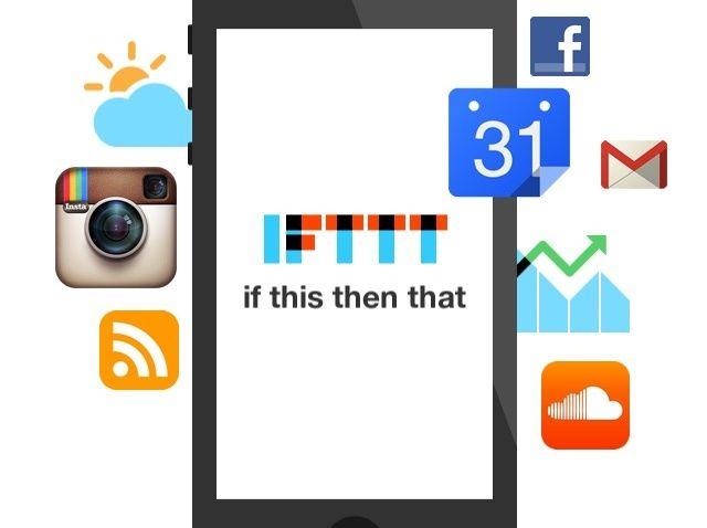 Cómo utilizar la App IFTTT (múltiples tareas y acciones).