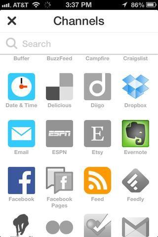 Hay un montón de sitios, aplicaciones y servicios que se pueden utilizar en las recetas. Por ejemplo si se activa