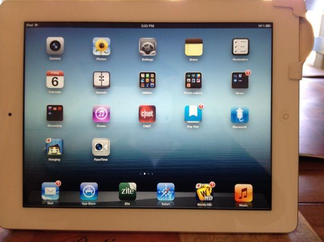 Cómo utilizar el iPad