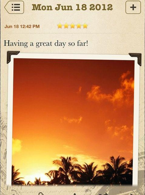Cómo utilizar Wonderful Days para un diario