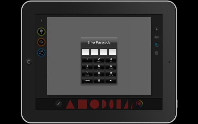 Para salir del modo de quiosco de prensa el botón de inicio tres veces e introduzca su código de acceso.