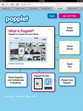 Popplet es un bastante nuevo reemplazo para el programa Inspiration actualmente tiene. Lluvia de ideas, colaborar, compartir.