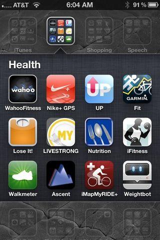 Inicie la aplicación Wahoo Gimnasio cualquier aplicación que sea compatible con la tecla Wahoo (más de 75 aplicaciones - ver wahoofitness.com)