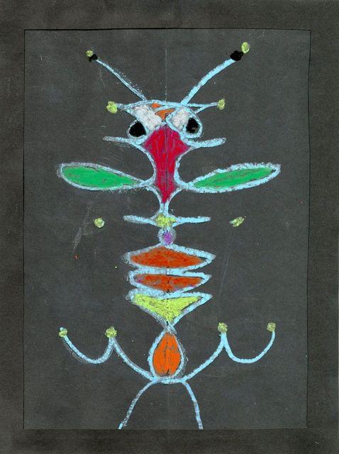 Cómo utilizar su nombre para hacer insecto original del arte