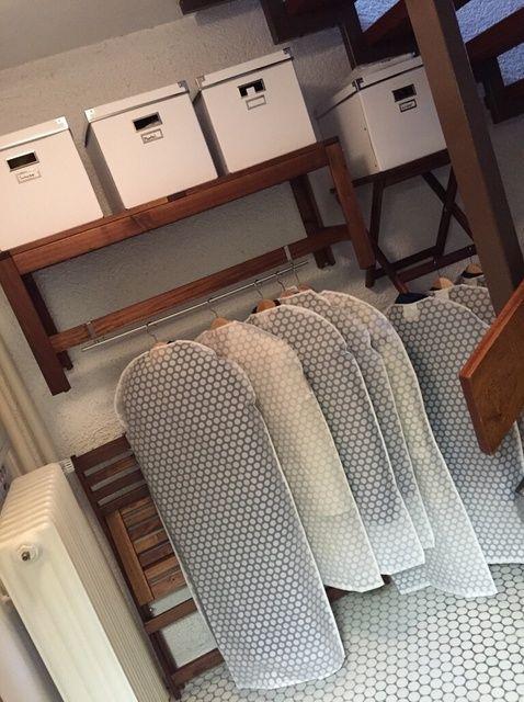 Cómo utilizar sus muebles al aire libre como un armario en invierno