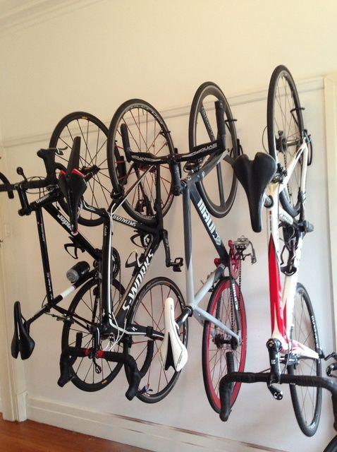 Fotografía - Como soporte de pared su bicicleta
